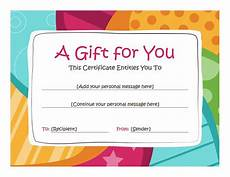 Make Gift Certificates Online Free 78 Images About Certificates On Pinterest Gift