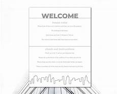 Rental House Rules Template Airbnb Printables Vacation Rental House Rules Airbnb