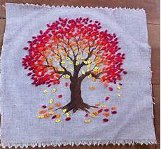 tree embroidery embroidery and stitch