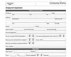 Easy Online Applications Jobs Basic Job Application Basic Job Application Form