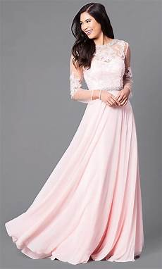 sleeve homecoming dresses cut out prom dress with sheer sleeves promgirl