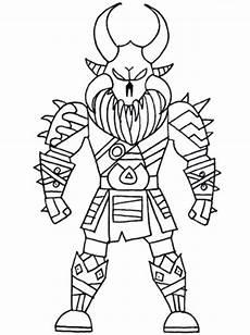 Malvorlagen Ragnarok Dibujo Para Colorear Skins De Fortnite Legendarias