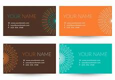 Trendy Business Cards Free Trendy Business Vector Card Download Free Vector