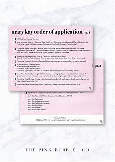 Mary Application Chart Mary Customizable Order Of Application Sheet Find It