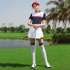 womans golf clothes groovy pgm golf summer clothing set apparel