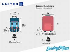 United Domestic Baggage Fees United Airlines Baggage Allowance For Carry On Checked