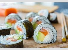 ??????? How To Make Sushi Rolls At Home Step By Step   ?????