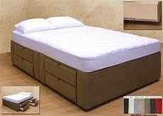8 drawer platform bed storage mattress box