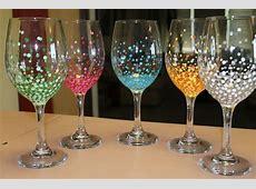 Wine Glasses With Finger Indent   David Simchi Levi