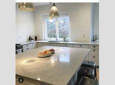 Caeserstone countertops IKEA nobel gray   Grey kitchen inspiration, Space saving kitchen