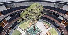 Alternative Building Design Hgr Arquitectos Designs Building With Circular Courtyard