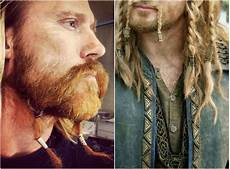 männer frisuren wikinger viking hairstyles for and inspirations and