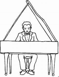 gratis malvorlagen klavier pianist am fluegel ausmalbild malvorlage musik