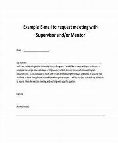 Sample Letter Requesting A Meeting Free 7 Meeting Email Examples In Pdf Examples