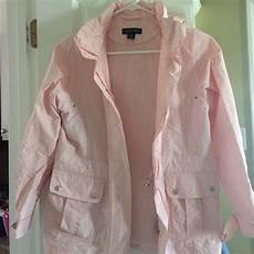 Light Pink North Face Rain Jacket Lands End Jackets Amp Coats Girls Medium Light Pink Rain