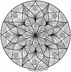 Malvorlagen Erwachsene Mandala Pin Auf Flowers
