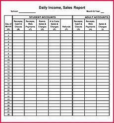Daily Sales Record Book 5 Daily Income Template 30029 Fabtemplatez