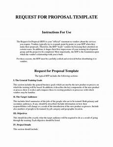 Rfp Templates Word 12 13 Rfp Format Template Loginnelkriver Com
