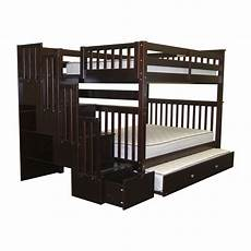 bedz king bunk bed with trundle