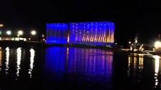 Buffalo Ny Light Show Canalside Buffalo Grain Elevator Light Display Youtube