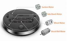 competitive motor solutions for robotic vacuum cleaner
