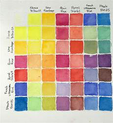 Daniel Smith Watercolor Color Chart Color Mixing Chart Daniel Smith Essentials M