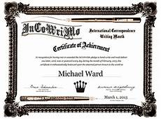 Certificates And Awards Incowrimo Award Certificates Are Here Incowrimo