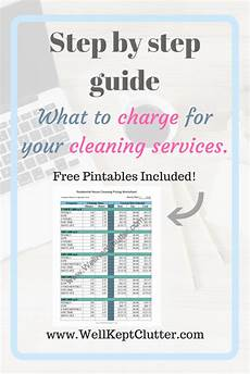 House Cleaners Prices What You Should Charge For House Cleaning Services Well