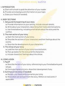 Examples Of A Narrative Essay How To Write An Outstanding Narrative Essay And Get An A