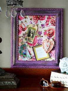 fabric crafts frames how to make a fabric covered bulletin board how tos diy