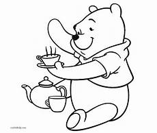 free printable winnie the pooh coloring pages for