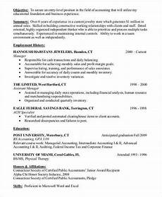 Entry Level Cpa Resumes 26 Accountant Resume Templates Pdf Doc Free