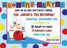 Free Printable Bowling Party Invitations For Kids Free Bowling Birthday Party Invitations Print