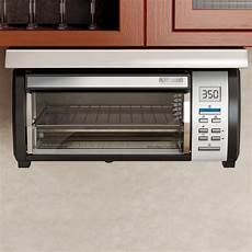 black decker spacemaker toaster oven black and stainless