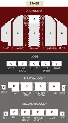 Palace Theatre New York City Seating Chart Palace Theatre Albany Albany Ny Seating Chart And Stage