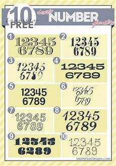 Fonts For Numbers Best Free Number Fonts Free Fonts