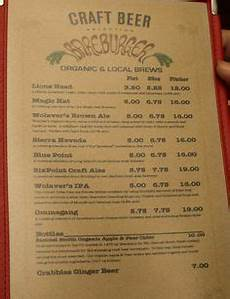 Every Trendy Restaurant Menu Here S What Every Trendy Restaurant Menu Looks Like