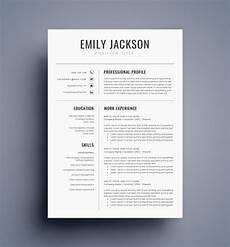 Cv Templates For Microsoft Word Resume Template Cv Template For Ms Word Best Selling Etsy