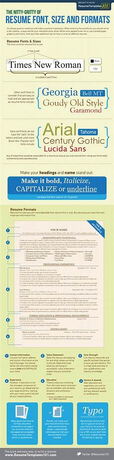 Best Font To Use On A Resumes What Is The Best Resume Font Size And Format Infographic