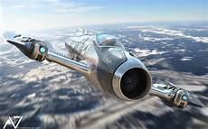 Jet Design A7 Fighter Jet Futuristic Concept Jet With Timeless