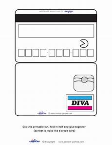 Credit Card Template For Kids 9 Best Images Of Free Printable Play Credit Cards Credit