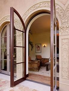 Arch Design Window And Door These French Doors Patio Doors Mediterranean Homes