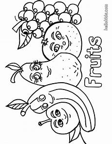 fruit salad coloring pages and print for free
