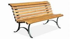 panchina in ferro panchina in acciaio zincato e legno per arredo urbano