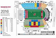 Byu Football Stadium Seating Chart Wsu Football Season Ticket Prices Up With Extra Home Game