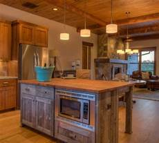 reclaimed wood kitchen island 14 rustic kitchen island ideas keeping it earthy and charming