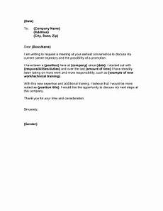 Requesting For Promotion Promotion Request Letter Template