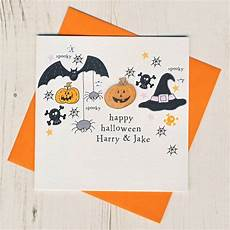 Spooky Halloween Cards Halloween Spooky Handmade Card By Eggbert Amp Daisy