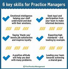 Managers Skills And Abilities 6 Important Skills Every Gp Practice Manager Should Have