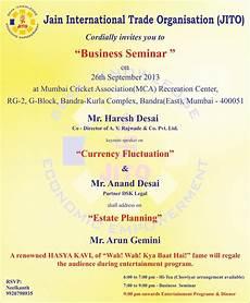 Seminar Invitation Format Kulasara 25 Elegant Seminar Invitation Card Design With